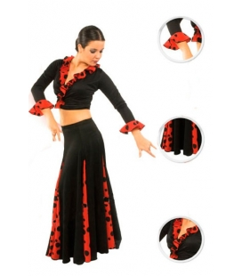 Flamenco skirt for girls model EF105