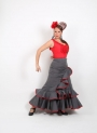 Camino flamenco skirt