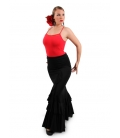 Flamenco Skirt, Model Salon, Normal Waist
