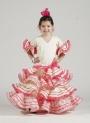 Flamenco dress girl Aurora