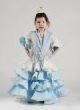 Flamenco dress girl Hinojo