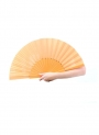 Hand fan in wood
