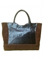 Tote brown Leather Bag