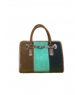 Satchel Tricolor Bag