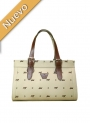 Bag Satchel Beige