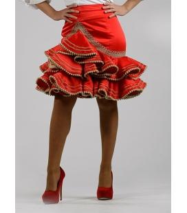 Short flamenco skirt