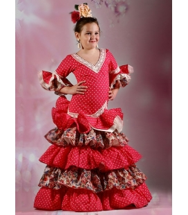 Flamenco Dress Girl Verdiales