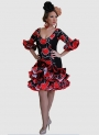 Flamenco dress Short for woman