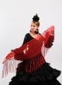 Flamenco Plumeti Shawl