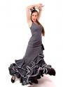 Flamenco Dress, Coral, Size 54/56