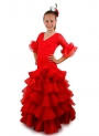 Girls Flamenco Dress, Manzanilla