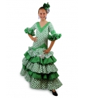 Flamenco Dress for Girls, Verdiales