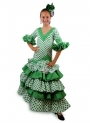 Flamenco Dress for Girls, Verdiales