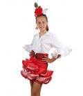 Girls Flamenco Skirt, Tamara
