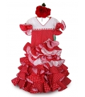 Girls Flamenco Dress, Amapola