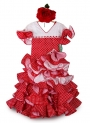 Girls Flamenco Dress, Amapola
