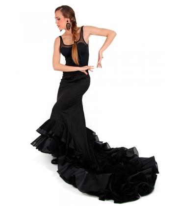 Long-Tailed Flamenco Skirt, Normal Waist