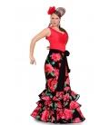 Flamenco Lady Skirt, Dalia Model