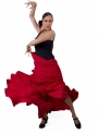 Flamenco Practice Skirt, Model 115
