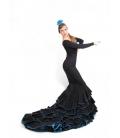 Flamenco Long-tale Skirt