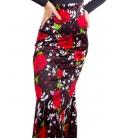 Flamenco Skirt High Waist