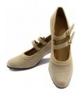 Suede Flamenco Shoes