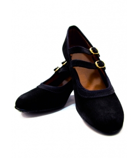 Suede Flamenco Shoes
