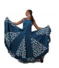 Flamenco Dress Bailaora With Godets