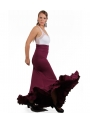 Flamenco skirt, Model EF258 (stitch-crepe)