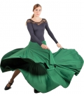 Flamenco skirt with 8 godets