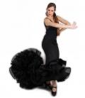 Long-Tailed Flamenco Skirt