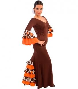 Flamenco skirt model EF072