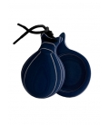 Grained Glass Castanets