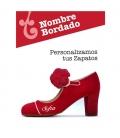 Customize your flamenco shoe