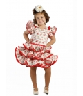 Girls Flamenco Dress, Ilusión Super