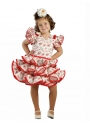Girls Flamenco Dress, Ilusión Super