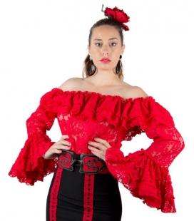 Flamenco shirt for woman