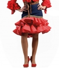 Flamenco Short Skirt, Delia