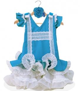 Flamenco Dress for Girls Size 4