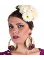 Flamenco Earrings With Flowers