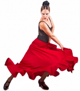 Flamenco Skirt Amateur, Model MC2