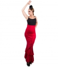 red flamenco skirt