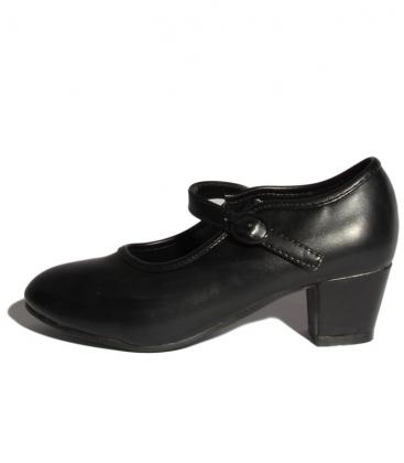 flamenco black shoes