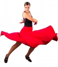 skirt for dancing flamenco