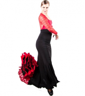 Flamenco Skirt For Dance 3 Godets