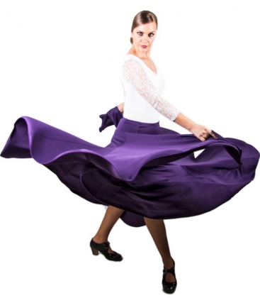 Flamenco Skirt, Model 8 Godets, Regular Waist