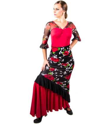 falda de flamenco