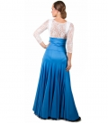 Flamenco Skirt High Waist, Model 8 Godet