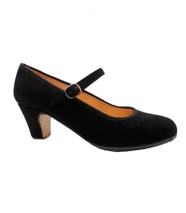 Flamenco Dancing Shoes, Buckskin