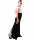 Lace Flamenco Skirt